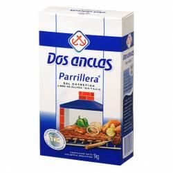 Sal Entrefina Parrillera Dos Anclas Estuche x 1 Kg.