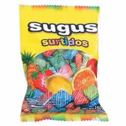Caramelos Masticables Sugus Frutales Surtidos x 150 g.