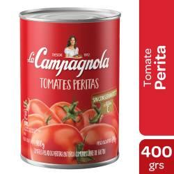 Tomate Perita al Natural La Campagnola x 400 g.