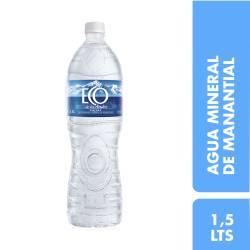 Agua Mineral sin gas Eco de los Andes x 1,5 lt.