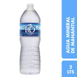 Agua Mineral sin gas Eco de los Andes x 2 lt.