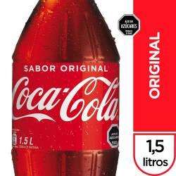 Gaseosa Cola Coca-Cola Pet x 1,5 lt.