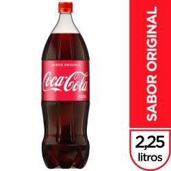 Gaseosa Cola Coca-Cola Pet x 2,25 lt.