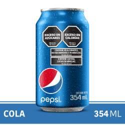 Gaseosa Cola Pepsi Lata x 354 cc.