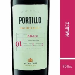 Vino Tinto Portillo Malbec x 750 cc.