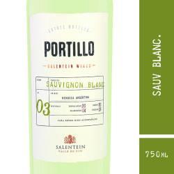 Vino Blanco Portillo Sauvignon Blanc x 750 cc.