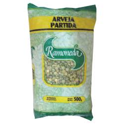 Arvejas Secas Partidas Ramoneda x 500 g.