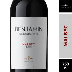 Vino Tinto Benjamín Malbec x 750 cc.
