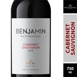 Vino Tinto Benjamín Cabernet Sauvignon x 750 cc.