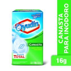 Desodorante para Inodoro Ayudín Canasta x 16 g.