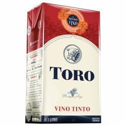 Vino Tinto Toro Brick x 1 lt.