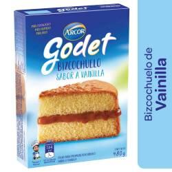 Polvo para preparar Bizcochuelo Godet Vainilla x 480 g.