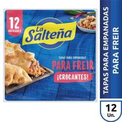 Tapas de Freir Empanadas La Salteña x 12 un. 330 g.