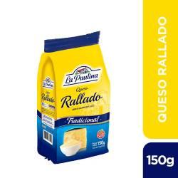 Queso Rallado La Paulina x 150 g.