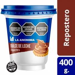 Dulce de Leche La Anónima Repostero x 400 g.