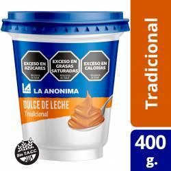Dulce de Leche La Anónima Tradicional x 400 g.