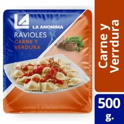 Ravioles de Carne y Verdura La Anónima en Blíster x 500 g.