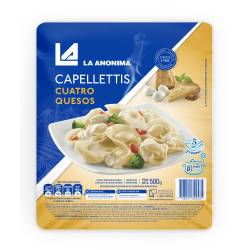 Capellettis 4 Quesos La Anónima en Blíster x 500 g.