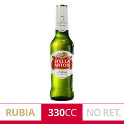 Cerveza Long Neck Stella Artois x 330 cc.