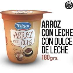 Arroz con Leche Tregar con Dulce de Leche x 180 g.