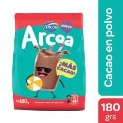 Alimento a Base de Azúcar y Cacao Arcoa x 180 g.