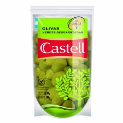 Aceitunas Verdes Descarozadas Doy Pack Castell x 150 g.