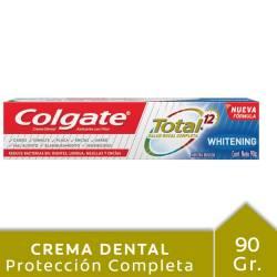 Crema Dental Total 12 Colgate Whitening x 90 g.