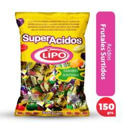 Caramelos Lipo Súper Ácidos x 150 g.