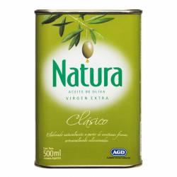 Aceite de Oliva Extra Virgen Lata Natura x 500 cc.