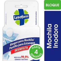 Desodorante para Inodoro Mochila Lysoform x 35 g.