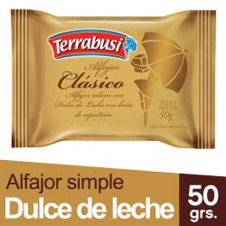 Alfajor Chocolate Terrabusi x 50 g.