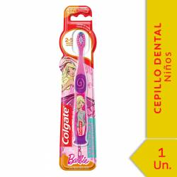 Cepillo Dental Colgate Infantil Barbie/Bob 2-5 años x 1 un.