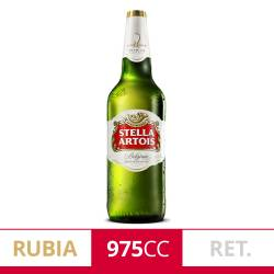 Cerveza Stella Artois Retornable x 975 cc.