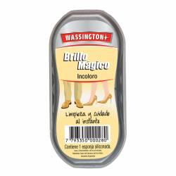 Esponja Siliconada para Calzado Wassington Incoloro x 1 un.