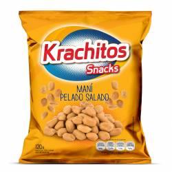 Maní Frito Pelado Salado Krachitos x 120 g.