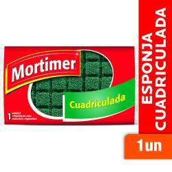 Fibra Esponja Cuadriculada Mortimer x 1 un.