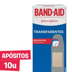 Apósitos transparentes Band-Aid x 10 un.