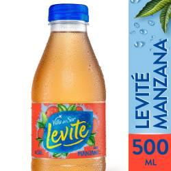 Agua sin gas Levité Manzana x 500 cc.