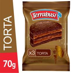 Alfajor Chocolate Triple Torta Terrabusi x 70 g.