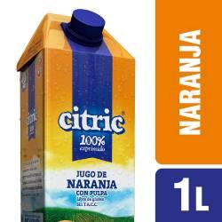 Jugo de Naranja con Pulpa Citric x 1 Lt.