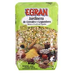Jardinera de Legumbres Egran x 500 g.