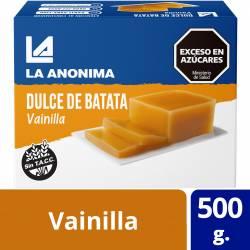 Dulce de Batata a la Vainilla La Anónima x 500 g.