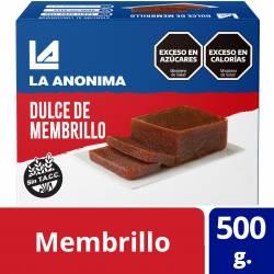 Dulce de Membrillo La Anónima x 500 g.