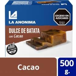 Dulce de Batata con Chocolate La Anónima x 500 g.