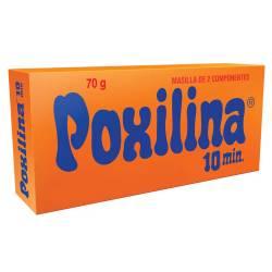 Masilla Epoxi 10 minutos Poxilina x 70 g.