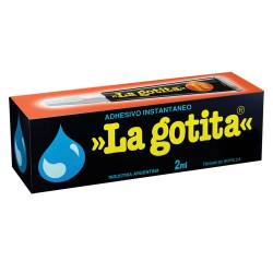 Adhesivo Instantáneo La Gotita 2 ml x 1 un.