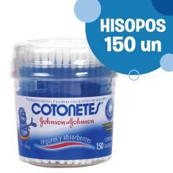 Hisopos Cotonetes Pote x 150 un.