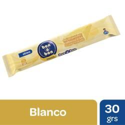 Oblea Rellena Bañada con Chocolate Blanco Bon o Bon x 30 g.