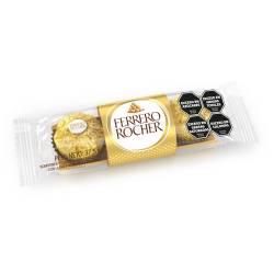 Bombón con Chocolate y Avellanas Ferrero Rocher x 37 g.