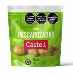 Aceitunas Verdes Descarozadas Doy Pack Castell x 80 g.